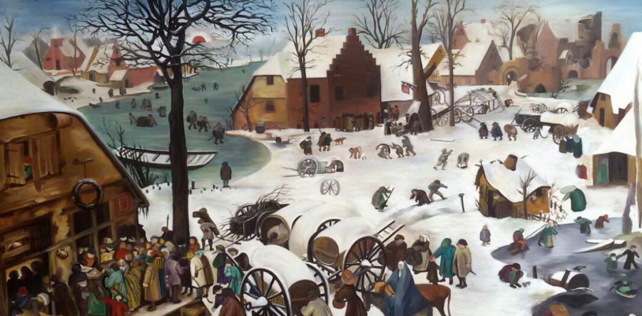 Bruegel- Bethlehem'de Nüfus Sayımı