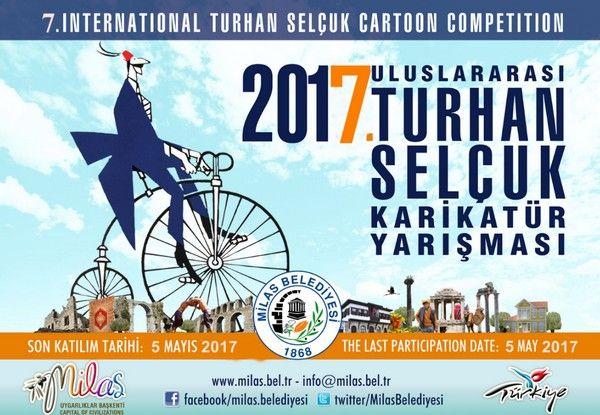 7. Uluslararası Turhan Selçuk Karikatür Yarışması 2017