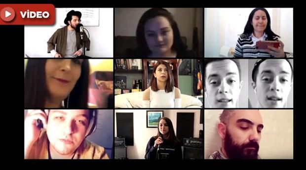 Sertab Erener hayranlarının gönderdiği videolardan klip yaptı