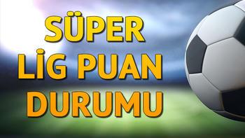 Süper Lig 5. hafta puan durumu | Süper Lig puan durumu nasıl şekillendi?